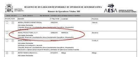 Empresa Drones Profesionales Barcelona y Madrid-AerialProductions.es