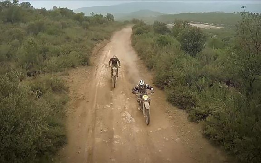 EnduRoc Burn 2015 Grabación evento motos con drone