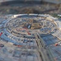 La nueva sede de Apple vista desde un Drone