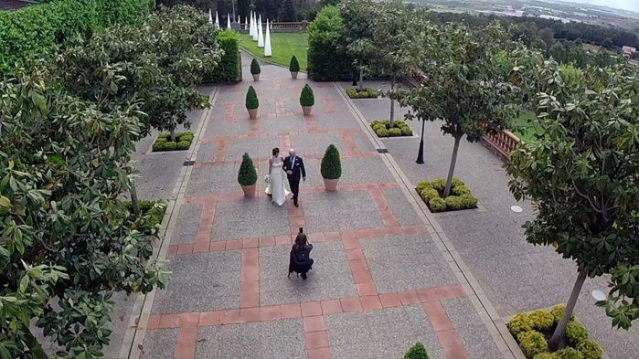 Filmaciones con Drones para bodas