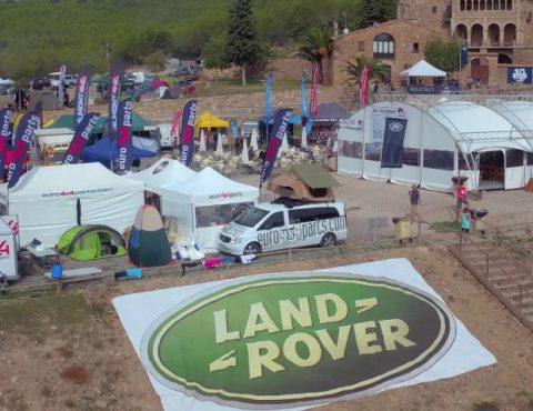 Land Rover Party 2016 Imágenes Aéreas con drone