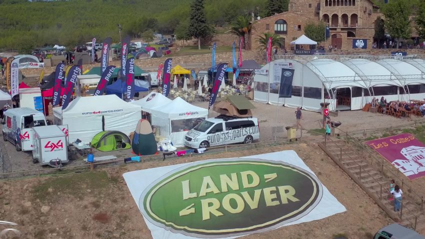 AerialProductions.es Land Rover Party 2016