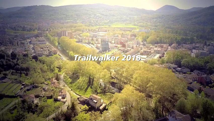 Imágenes Aéreas con drone Trailwalker Girona 2016