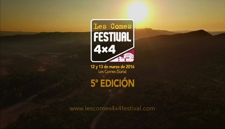 Les Comes 4X4 Festival 2016