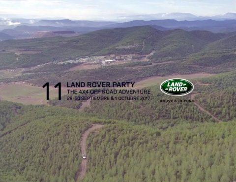 Land Rover Party 2017 – Imágenes aéreas