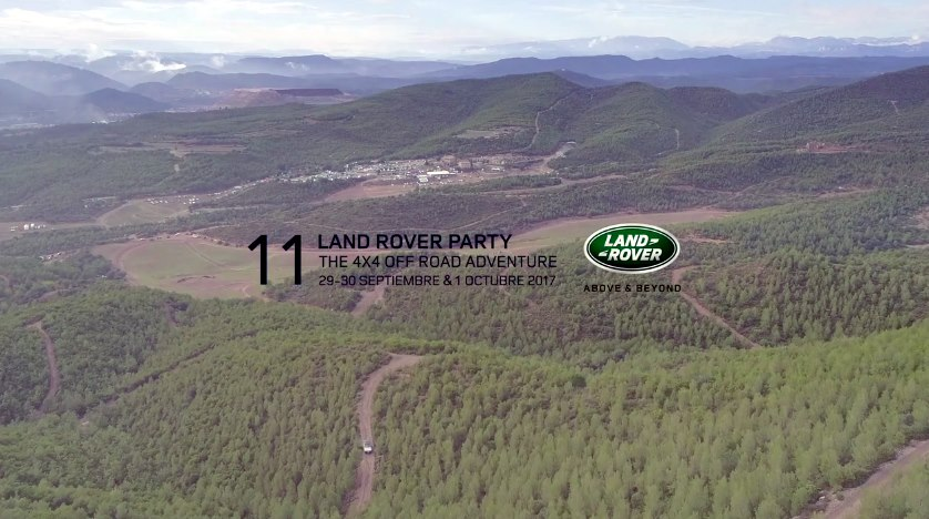 Land Rover Party 2017 Aerialproductions.es
