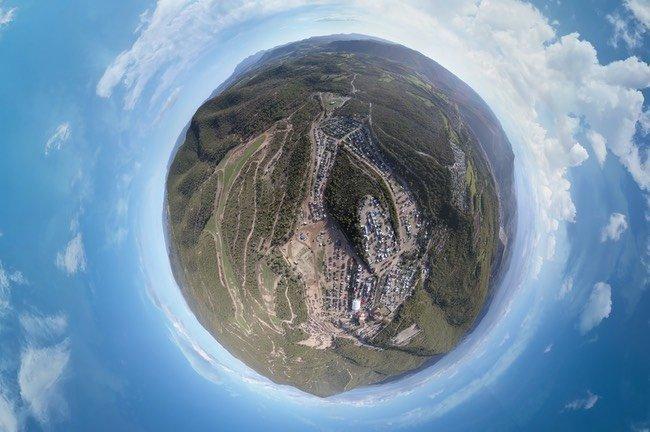 Fotografia 360 con Drones