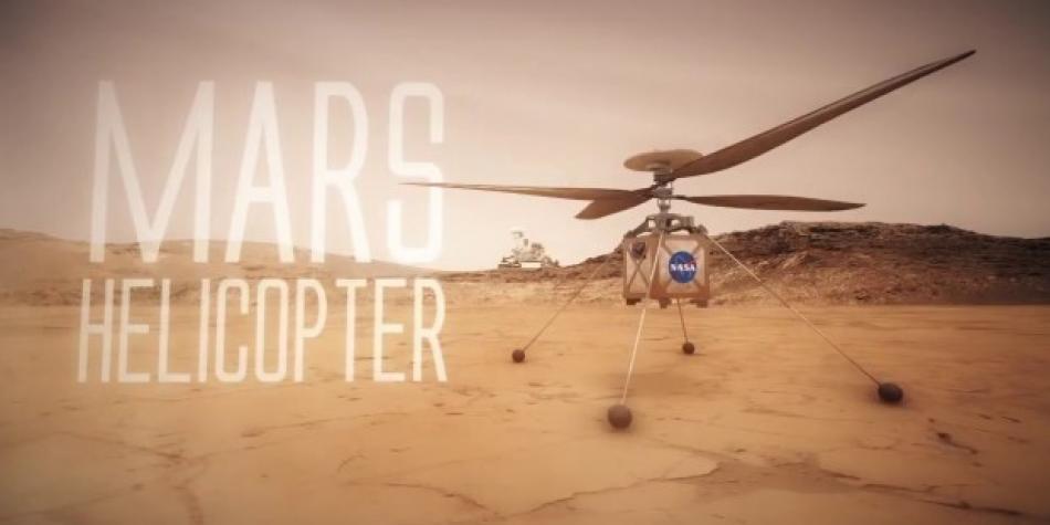 2020: Misión de un dron a Marte