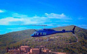 servicios de video y fotografía en helicóptero