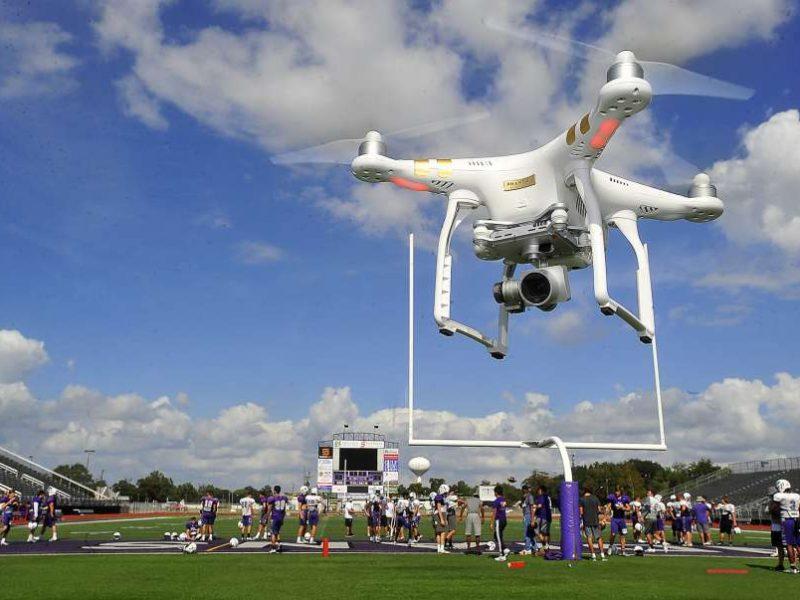 El uso de drones en los eventos deportivos ya es una necesidad