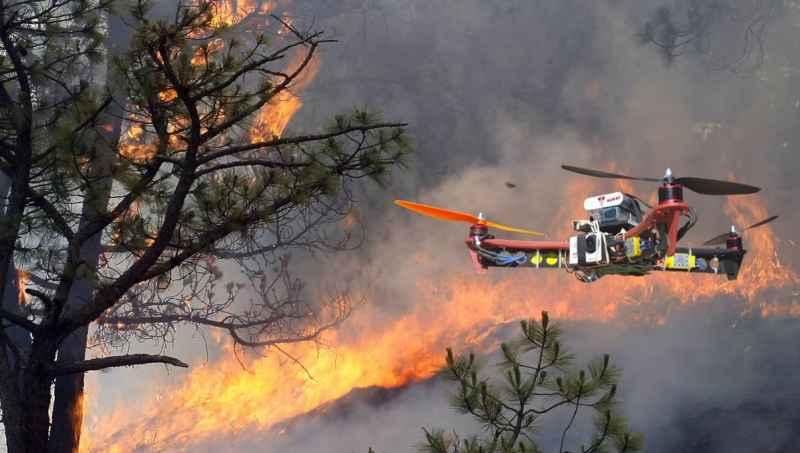 Drones en peritajes para compañías de seguros