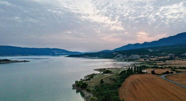 imágenes aéreas de Huesca tomadas con Drone