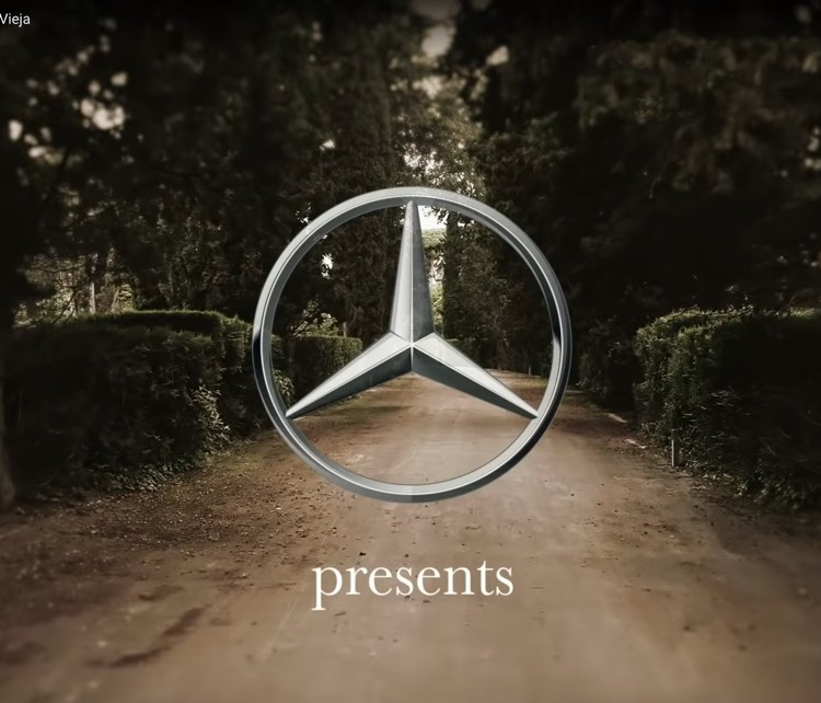 Vídeo Mercedes Benz Aerial drone
