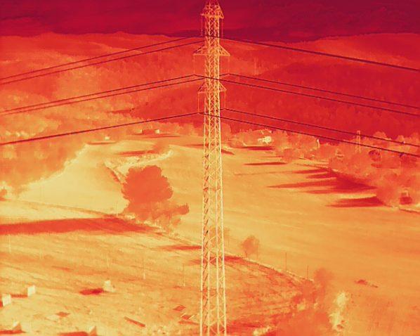 drones termográficos radiométricos