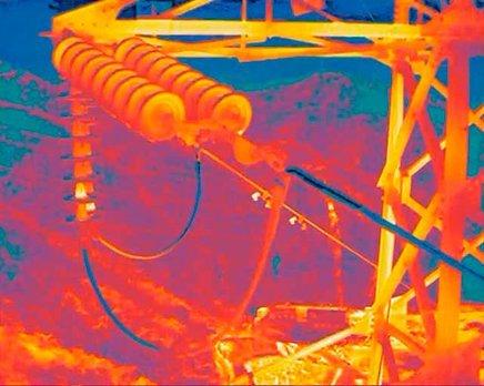 Inspección de tendidos y subestaciones eléctricas