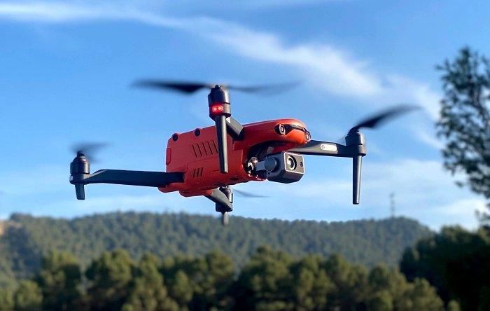 Vigilancia y seguridad privada aérea con drones