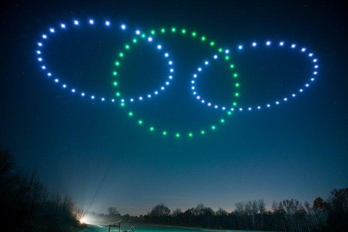 espectáculos de luces con drones Drone Light Show